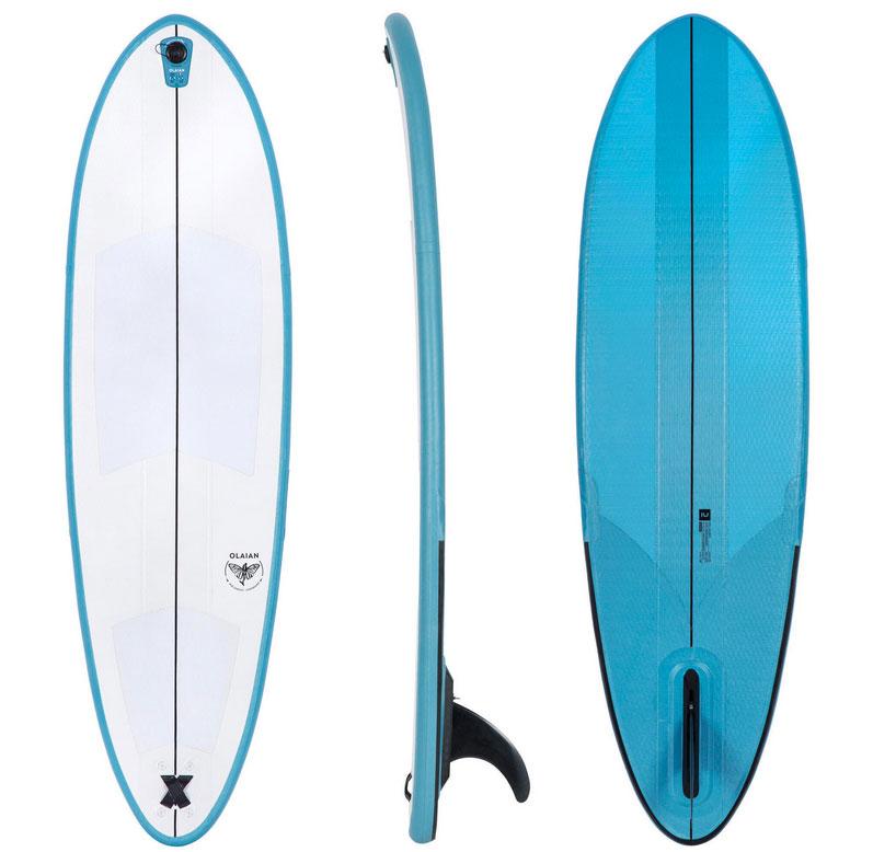 Le surf qui tient dans le sac !